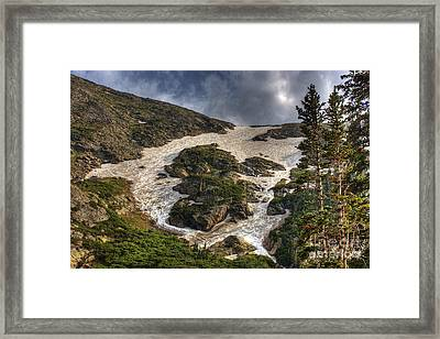 Extreme Trail Framed Print by Pete Hellmann