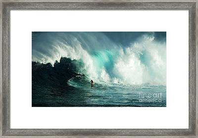 Extreme Ways Of Living 2 Framed Print by Bob Christopher