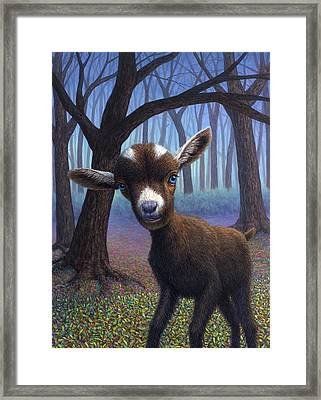 Extrovert Framed Print by James W Johnson