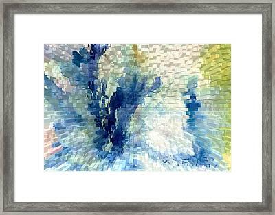 Extrude Framed Print by Steve Karol