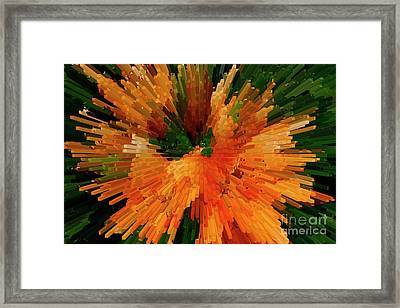 Extrusion Abstract Series Framed Print