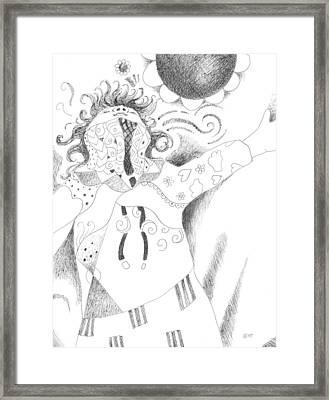 Exuberance Framed Print by Helena Tiainen