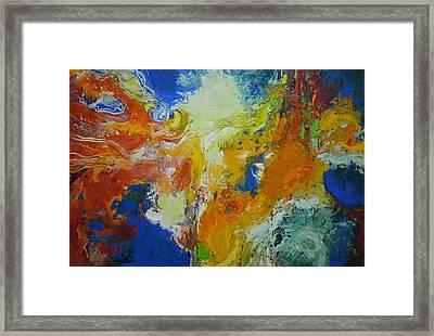 Exuberance Ll Framed Print