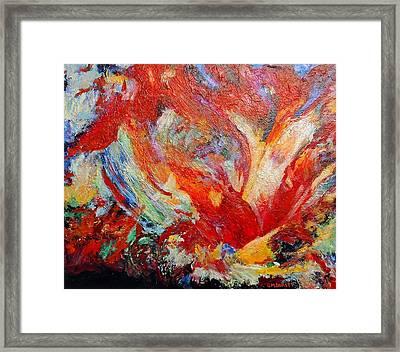 Exuberance Framed Print by Michael Durst