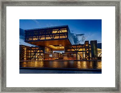 Exxonmobil Houston #2 Framed Print by Richard Irvin Houghton
