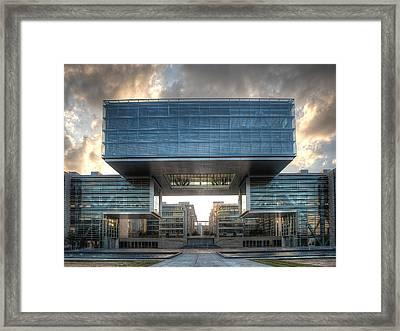Exxonmobil Houston #3 Framed Print by Richard Irvin Houghton