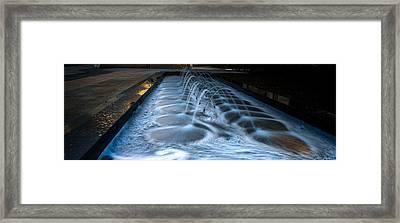 Exxonmobil Houston #9 Framed Print by Richard Irvin Houghton