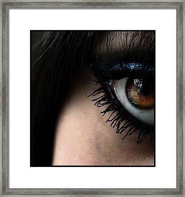 Eye 02 Framed Print