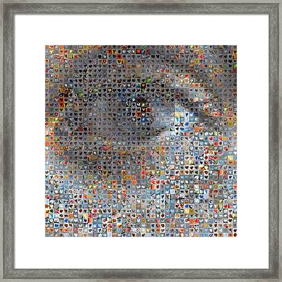 Eye 1  Framed Print by Boy Sees Hearts