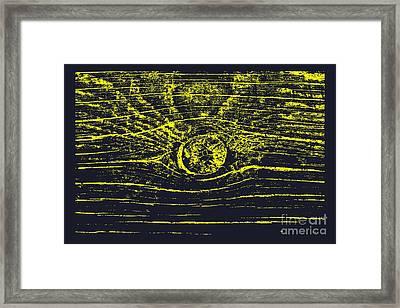 Eye 1 Framed Print by Sverre Andreas Fekjan