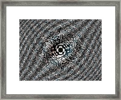 Eye Am Watching Framed Print by Darryl Redfern