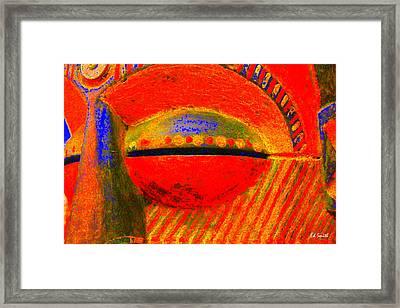 Eye C U Framed Print