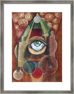Eye-conographic Framed Print by Dan Earle
