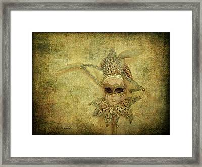 Eye Contact Framed Print