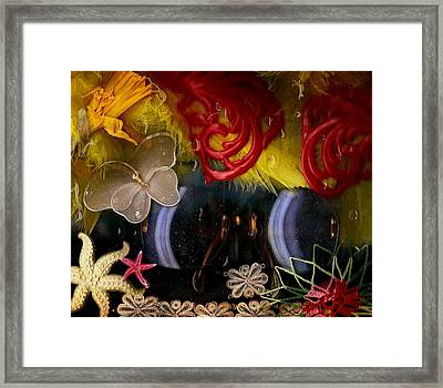 Eye Glasses In Popart With Style Framed Print by Pepita Selles