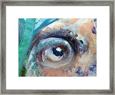 Eye Go Slow Framed Print