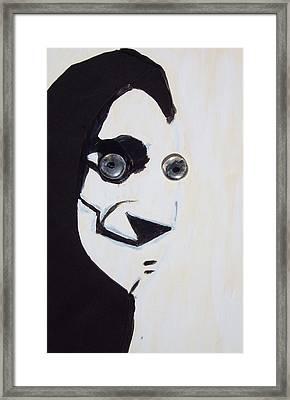 Eye-gor Framed Print