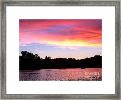 Eye In The Sky Framed Print by Jason Nicholas