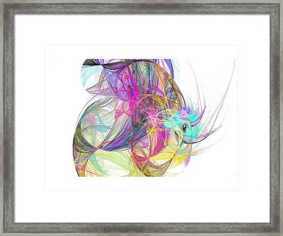 Eye In The Sky Framed Print