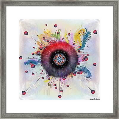 Eye Know Light Framed Print by Iowan Stone-Flowers