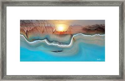 Eye Of Creation Framed Print