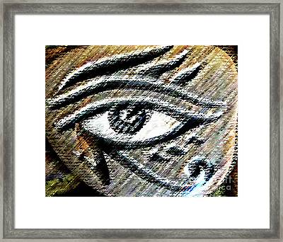 Eye Of Horus Framed Print