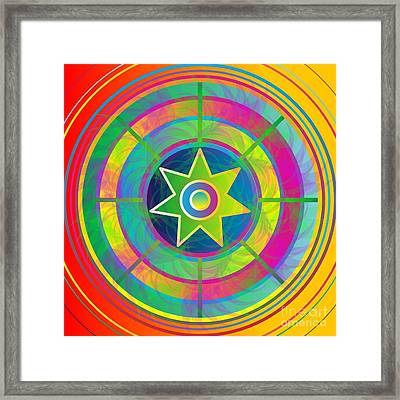 Eye Of Kanaloa 2012 Framed Print
