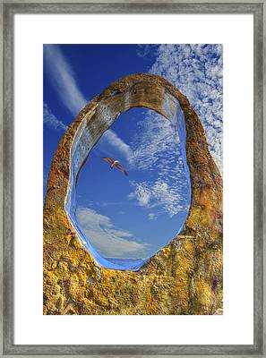 Framed Print featuring the photograph Eye Of Odin by Paul Wear