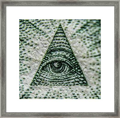 Eye Of Providence  Framed Print