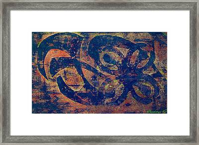 Blue Movement Framed Print by M Images Fine Art Photography and Artwork