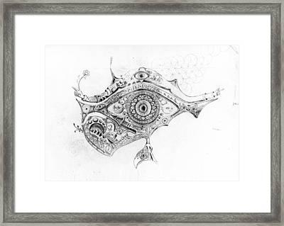 Eye Of Rah Framed Print