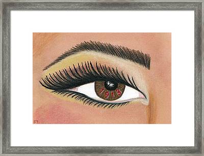 Eye Of The Beholder Series- 1913 Framed Print by BFly Designs