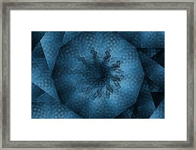 Eye Of The Crystal Framed Print