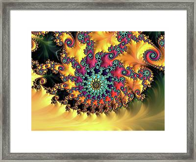 Eye Of The Elven King Framed Print by Susan Maxwell Schmidt