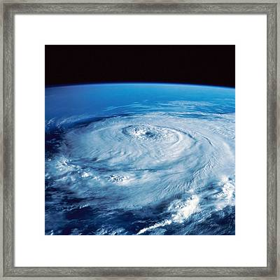 Eye Of The Hurricane Framed Print