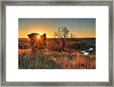 Eye Of The Monolith Framed Print