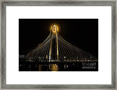 Eye Of The Needle Framed Print by Tamyra Ayles