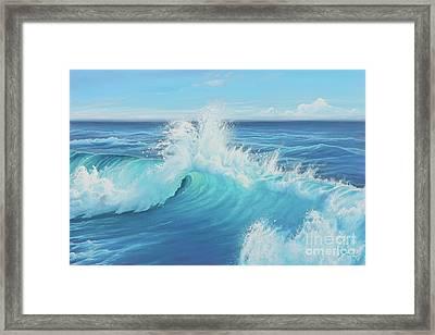 Eye Of The Ocean Framed Print by Joe Mandrick