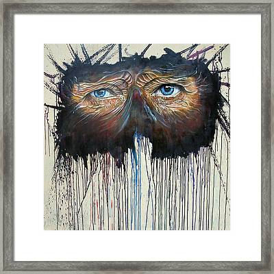 Eye Of The One Framed Print by Ole Hedeager Mejlvang