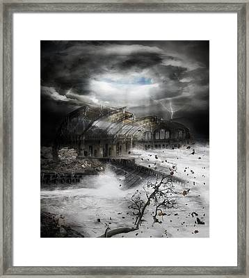 Eye Of The Storm Framed Print by Mary Hood