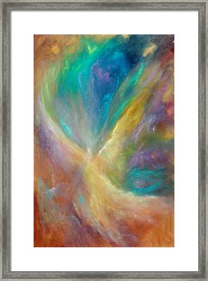 Eye Of The Universe Framed Print