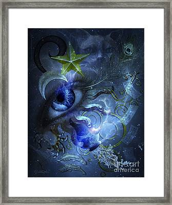 Eye Of The Witch Framed Print
