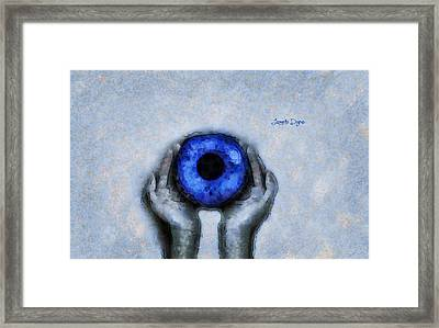 Eye Offer - Da Framed Print