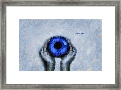 Eye Offer Framed Print