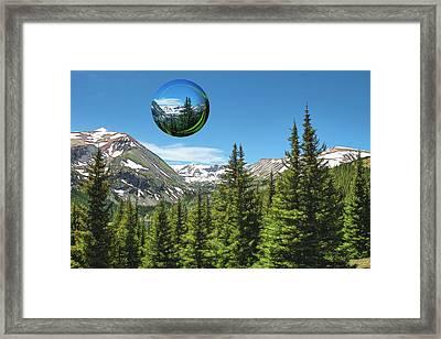 Eye On Summit County Framed Print