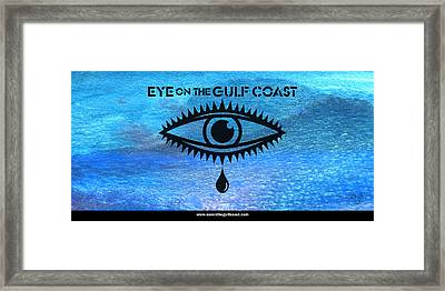 Eye On The Gulf Coast Framed Print by Paul Gaj