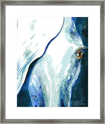 Eye On You Framed Print by Mary Armstrong