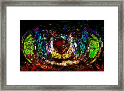 Eye Praise Framed Print by Cedrik Cady-Hill