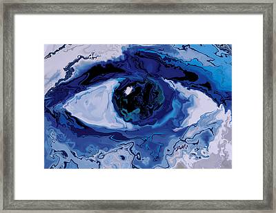 Eye Framed Print by Rabi Khan