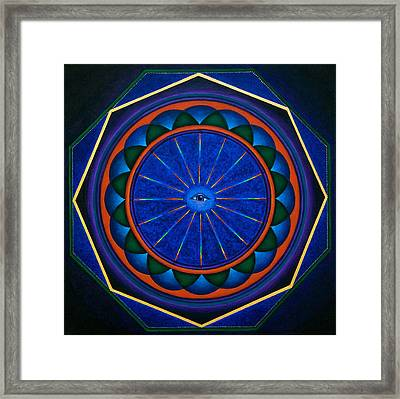 Eye See Framed Print